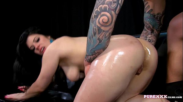 PURE XXX FILMS Busty Lucia Love goes wild Thumb