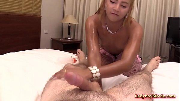 Ladyboy Masseur Ning Fucked Bareback