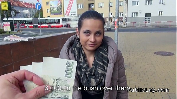 European amateur fucks in public for cash Thumb