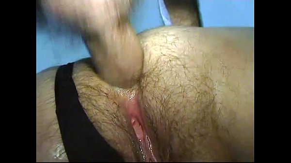 Homemade video of a mature fat woman in mask banged by younger