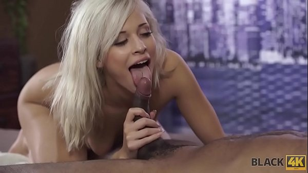 BLACK4K. Blonde has sex with handsome black man during summer vacation Thumb