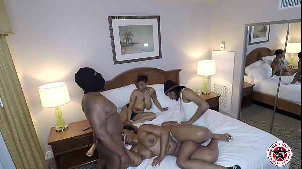 2019 Avn all black orgy party hidden camera angle