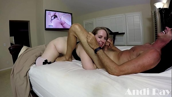 THICK BLONDE PAWG FUCKS AND RIMS MAN WHO COULD BE HER DAD PT. 4 Thumb
