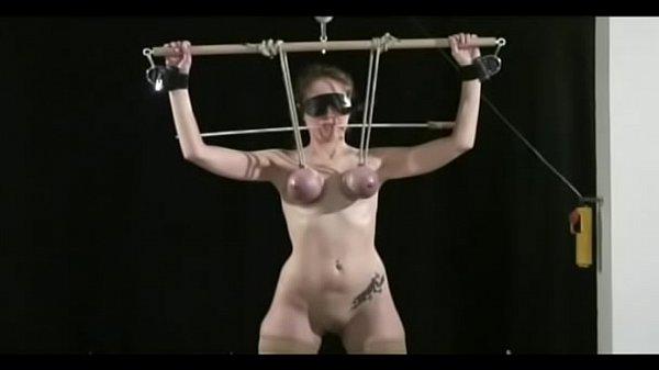 Порно пытка грудей