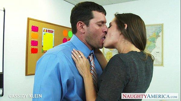 Brunette schoolgirl Cassidy Klein fuck cock