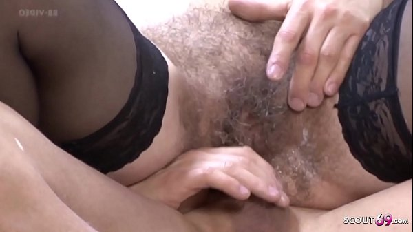Most Hairy Pussy MILF in the World Seduce to Fuck GERMAN Thumb