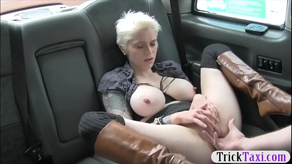 Horny Female Taxi Driver Fucks Passenger For Fare