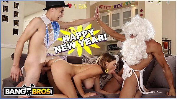 BANGBROS - New Years Eve Fuck Session With Krissy Lynn, Juan El Caballo Loco and Tommy Gunn