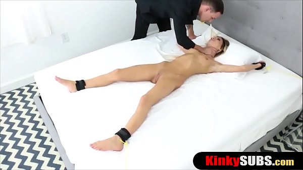 Some rope and my hard cock makes my stepsister happy Thumb