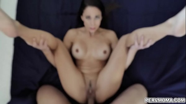 Eva Long is hungry for a young cock and her stepson is there to help!