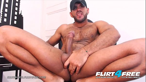 Nahun Ven – Flirt4Free – Latino Strips Out of Military Gear to Unleash Monster Cock