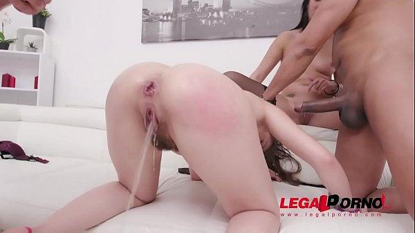 Porr första gången lesbisk