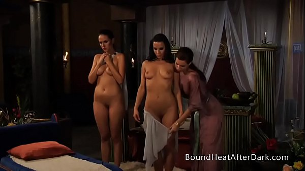 Lesbian Girls Undressed By Dominant Madame With...