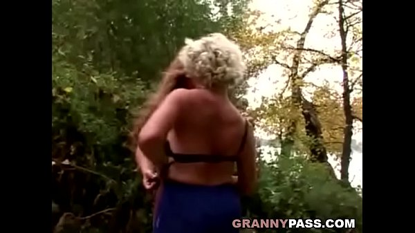 Granny Lesbian Love In The Forest Thumb