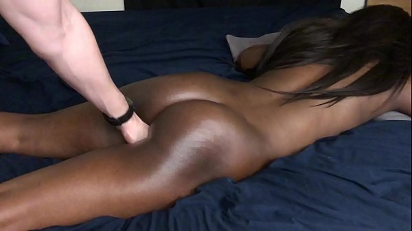 Black Teen Gets Fingered In The Pussy Until Cumming