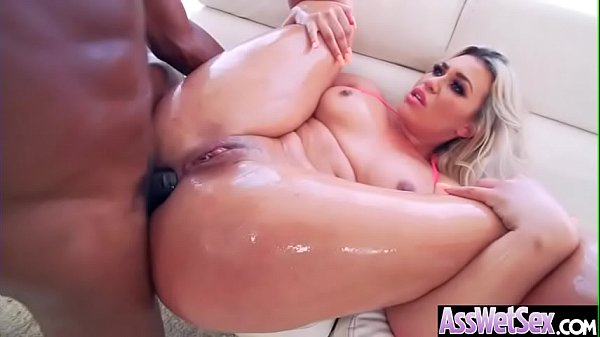 (Assh Lee) Superb Oiled Girl With Big Ass Get Anal Nailed clip-10