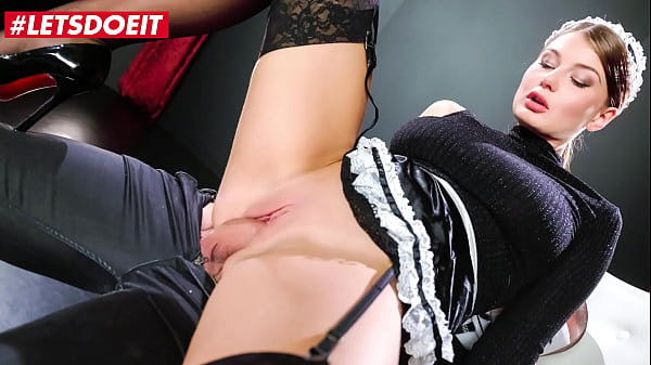 LETSDOEIT - (Lucy Li & Jack) Busty Czech Maid Rides Masked Boss