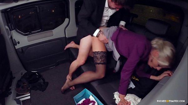VIP SEX VAULT - Christmas car sex with hot Swedish blondie Lynna Nilsson Thumb
