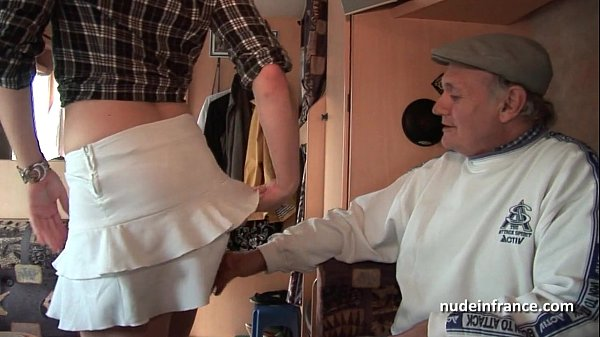 MMMF Amateur french redhead hard DP in foursome gangbang with Papy Voyeur Thumb