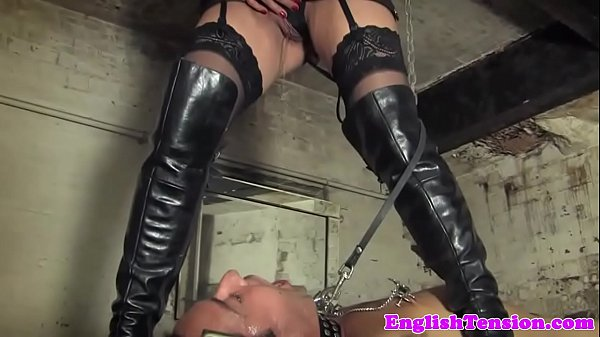Bondage pissing treatment for sub Thumb