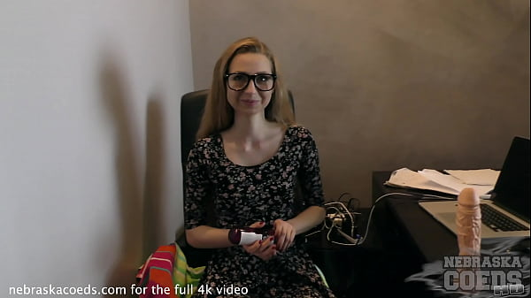 19yo areana fox in my office with a rather larg...