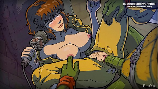 April O'Neil gets her delicious pussy monstrously fucked and cummed inside by the ninja turtles l My sexiest gameplay moments l The Mating Season l Part #2