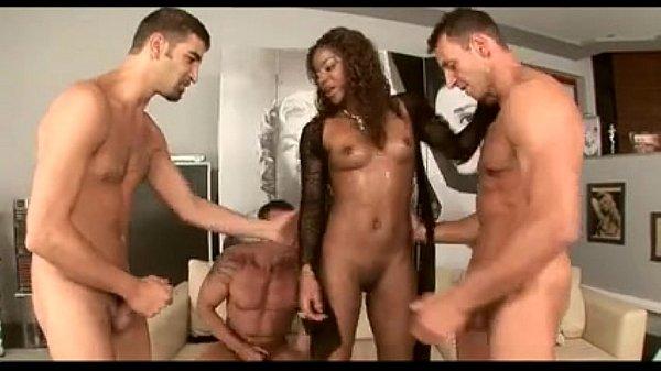 Jasmine Webb in a hot gangbang
