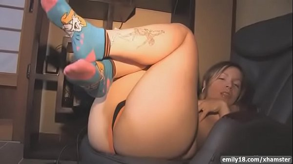 Emily18 - Teen sings and strips for us