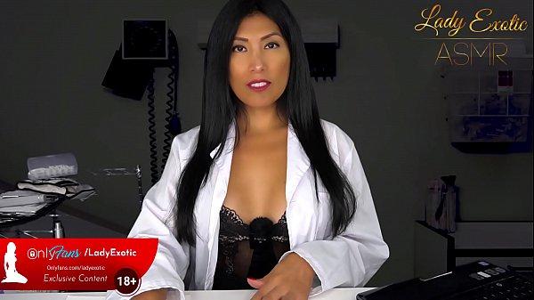 ASMR Exotic Brunette Doctor gives you a Handjob