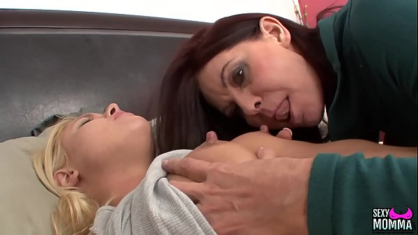 SEXYMOMMA - Teen Cutie Randee, Spreads Her Pussy Wide for Stepmommy Thumb