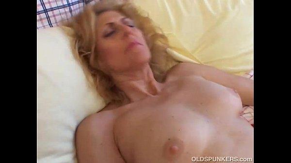 Cum on big amateur boobs