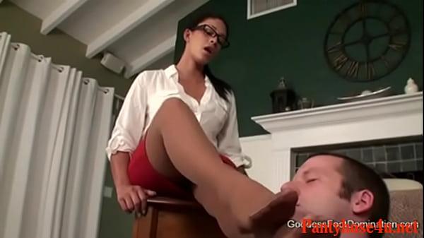 Pantyhose therapist domination