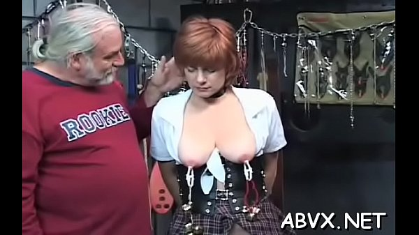 Dilettante chick with priceless assets amazing xxx bondage Thumb