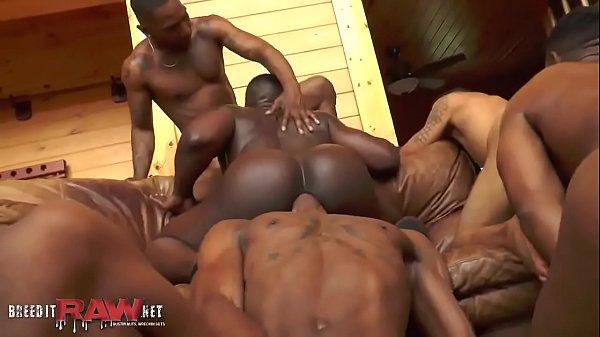 Black guys bareback in the house