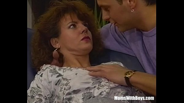 A Hairy Pussied Brunette MILF Fucked In The Couch Thumb