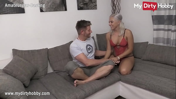 MyDirtyHobby - Gorgeous busty blonde does her f...