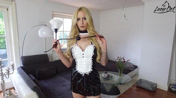 MyDirtyHobby – Lucy Cat deep double anal maid FFM