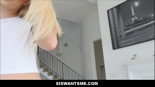 Hot Teen Stepsister Creamy Pussy Fuck