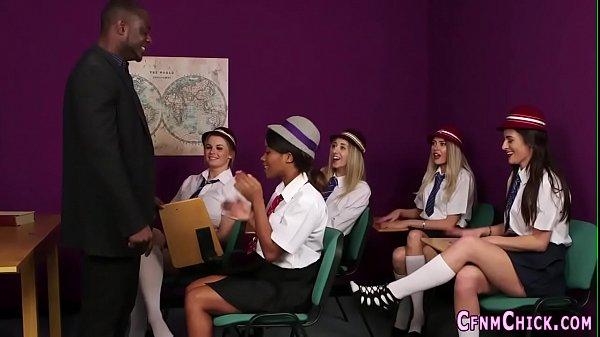 Clothed brit teens suck Thumb