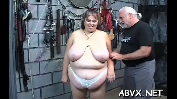Taut pussy bizarre bondage in home xxx video Thumb