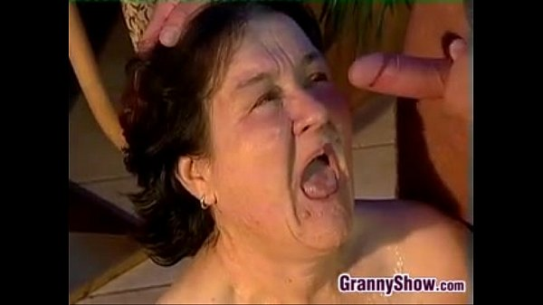 Granny wants a big cock