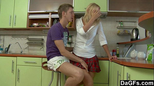 Anal sex after the homework in the kitchen Thumb