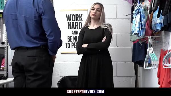 Sexy Teen Hides Stolen Underwear Under Her Hijab