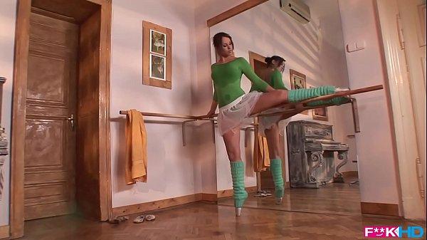 Aleska Diamond is a horny ballerina that gives blowjobs in XXXtreme poses Thumb