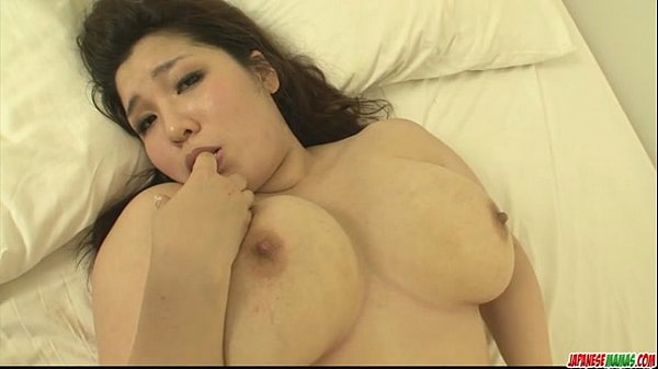 Plump and busty babe Yume Sazanami finger fucked and pussy pounded
