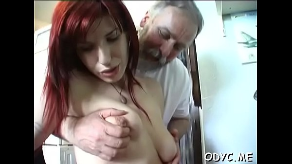 Pretty amateur slut enjoys 69 and rides old guy wildly