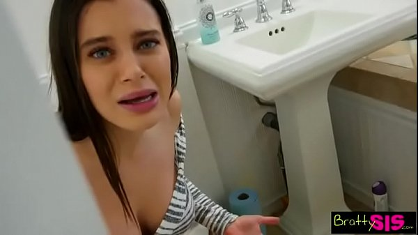 Brother Step sister big ass in bathroom - full video here :