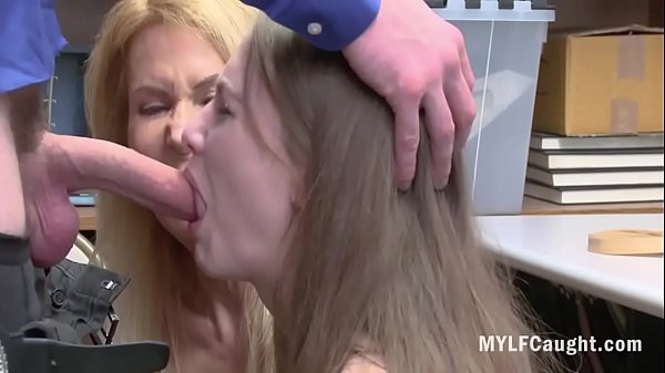 Mom And Daughter f. By Cop For Being Naughty- E...