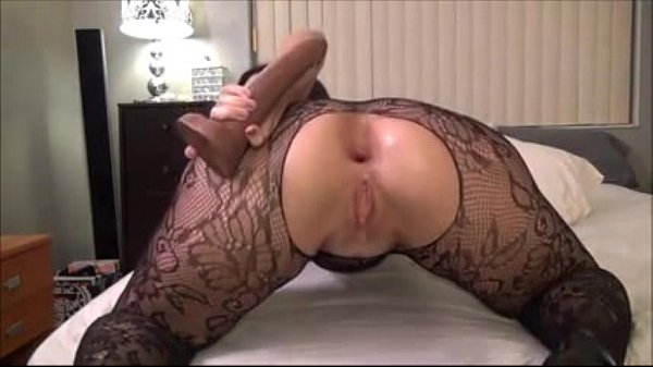 Babe performs anal with big dildo – 333bestcams.com