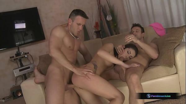 Rashia, Choky Ice, And Titus Steel In Hot DP Threesome